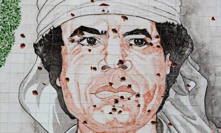 as search intensifies will gaddafi pull a saddam