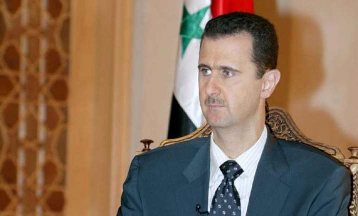 assad won t negotiate with terrorists
