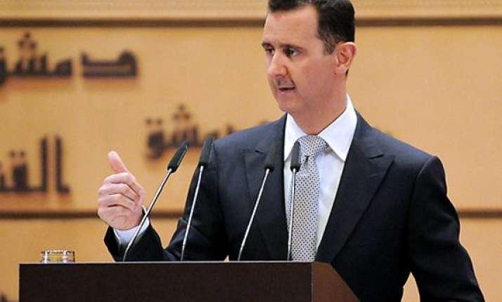 assad speech pushes syria to civil war opposition