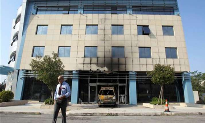 assailants attack microsoft hq in athens