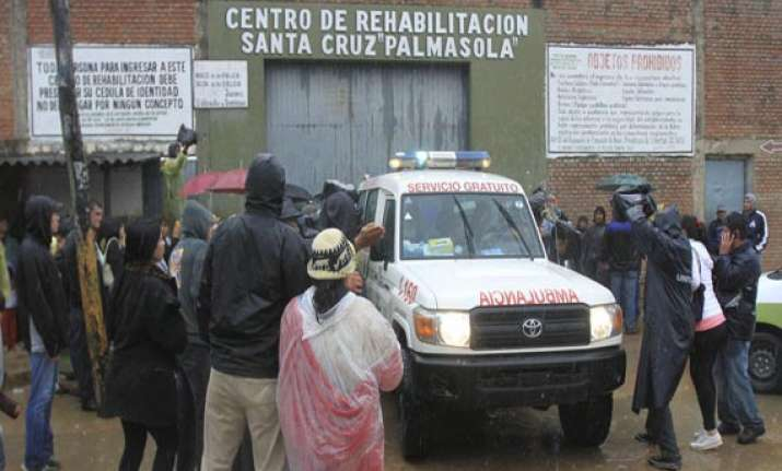 at least 29 killed in bolivia prison riot
