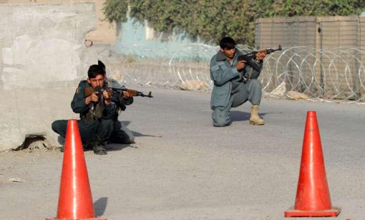 attack near un office kills 4 in afghanistan