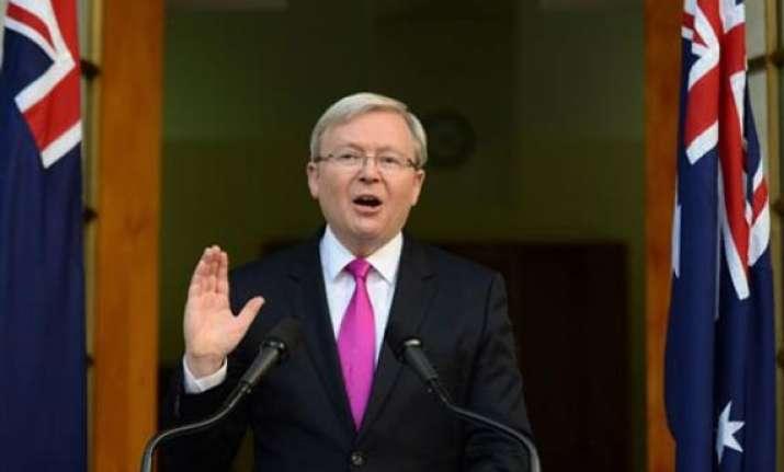 australia vote set for sept. 7 pm runs on economy