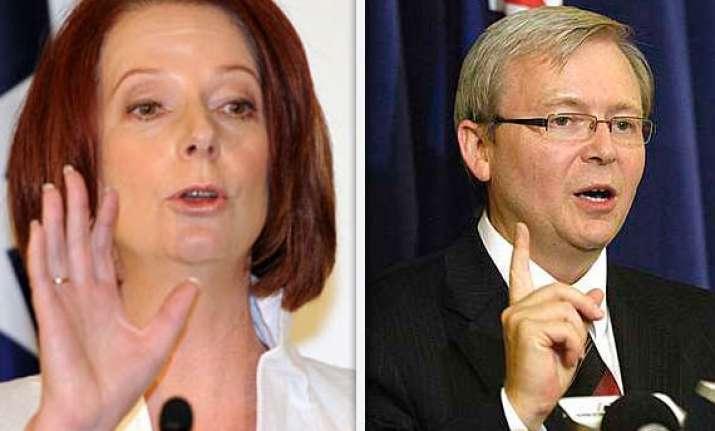 australian pm attacks predecessor