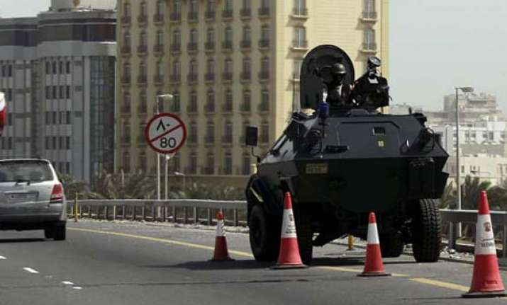 bahrain troops shoot at protesters