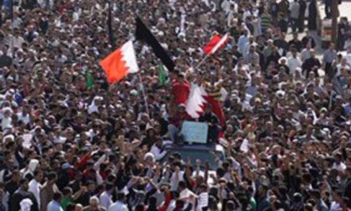 bahrain unrest crown prince calls for dialogue