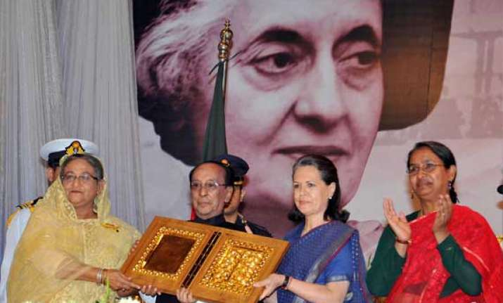 bangladesh gives indira gandhi its highest posthumous honour