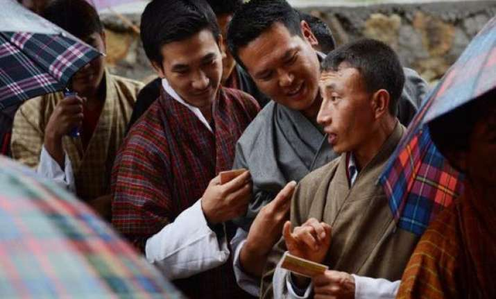 bhutan votes for a change in power