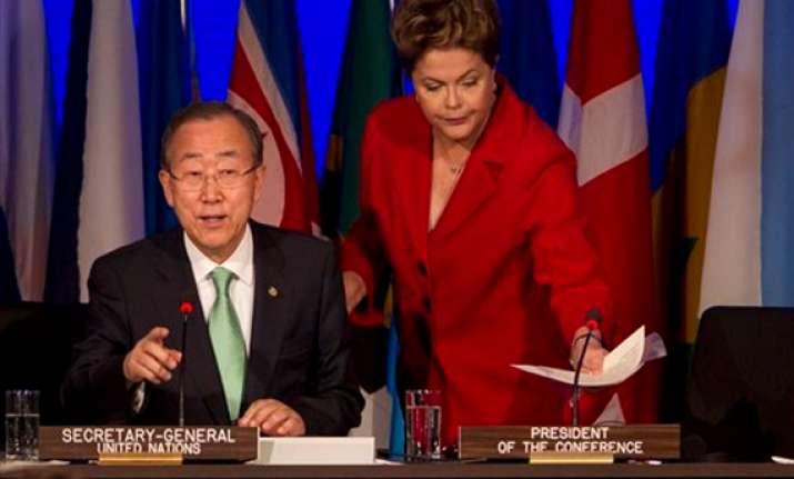 big un environmental summit opens in rio