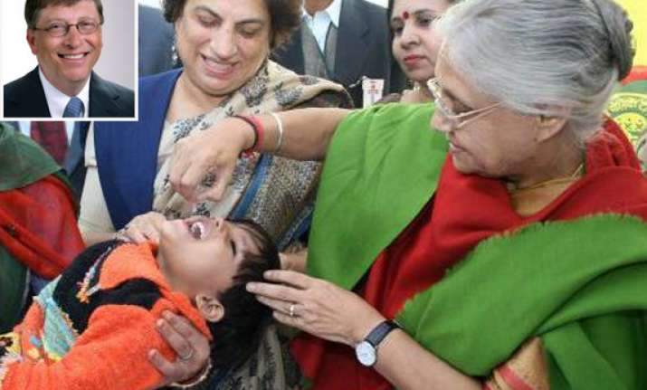 bill gates praises india for polio eradication