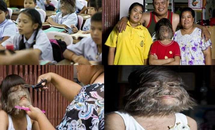bizarre meet the world s hairiest girl