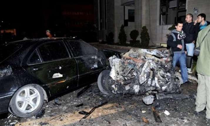 blast near damascus kills 16 state media say