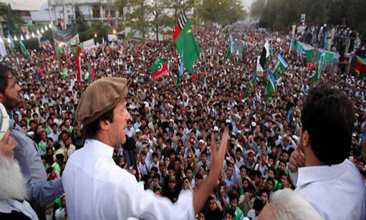 1 dead 11 injured in attack by militants after imran s rally