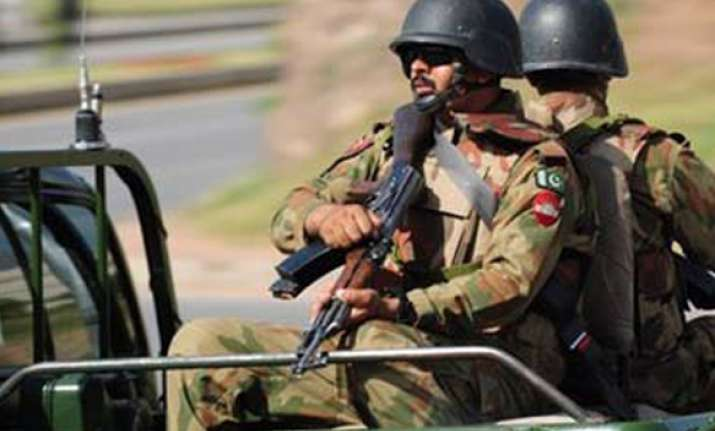 blasts hit pak army arms depot near islamabad