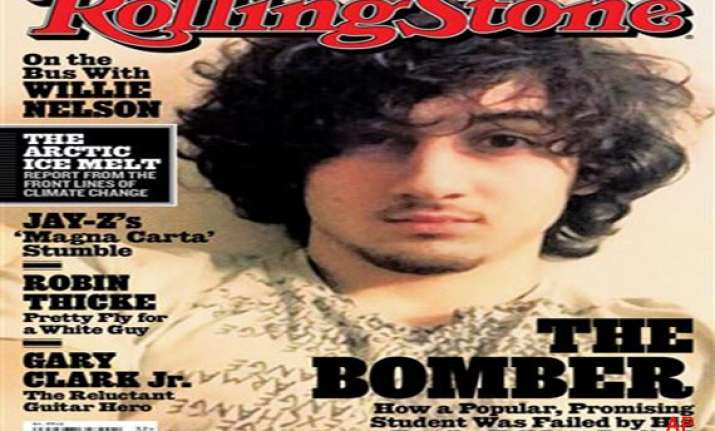 rolling stone cover features boston marathon Rolling stone's cover image, of boston marathon bombing suspect dzhokhar tsarnev, has already appeared widely in print—but is now creating a firestorm online, where many have accused the.
