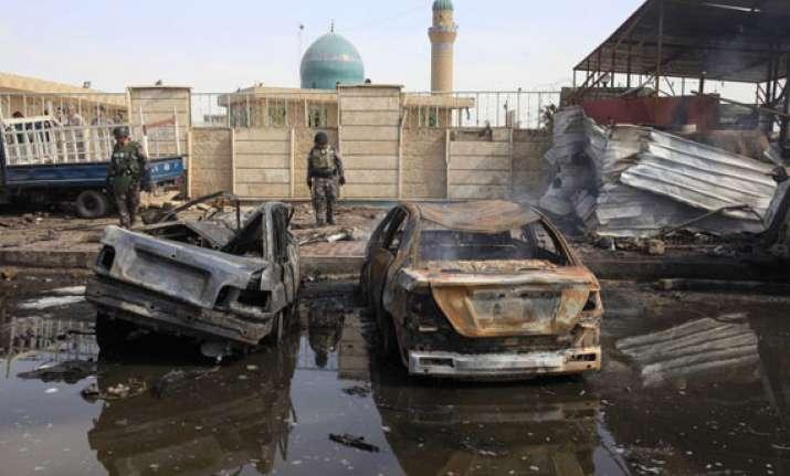 bombings in iraqi capital kill at least 19 people