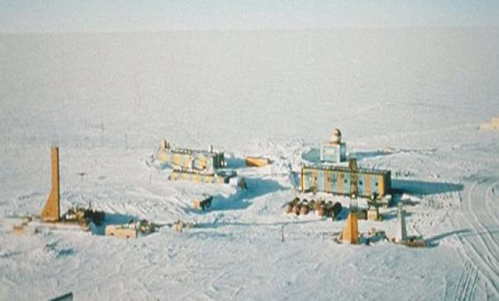 breakthrough as russian scientists drill into antarctic ice