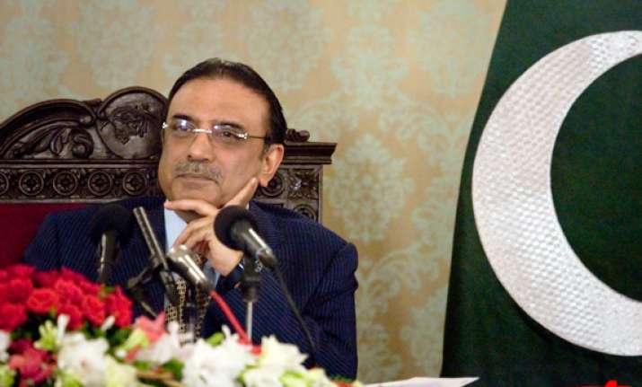 bring in change by ballot not bullet says zardari