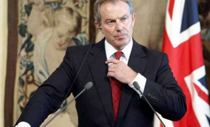 britain s blair to advise albania on joining european union