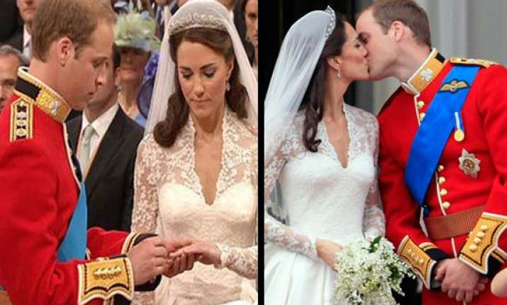prince william marries commoner kate middleton in fairytale