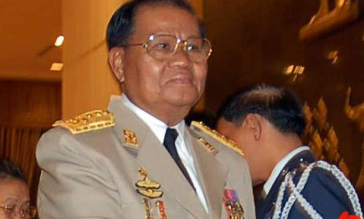 burmese dictator than shwe retires as army chief