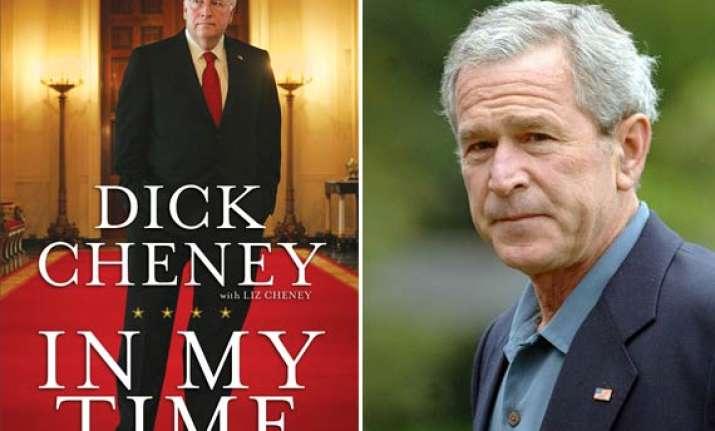 bush authorised leak on iraq dick cheney