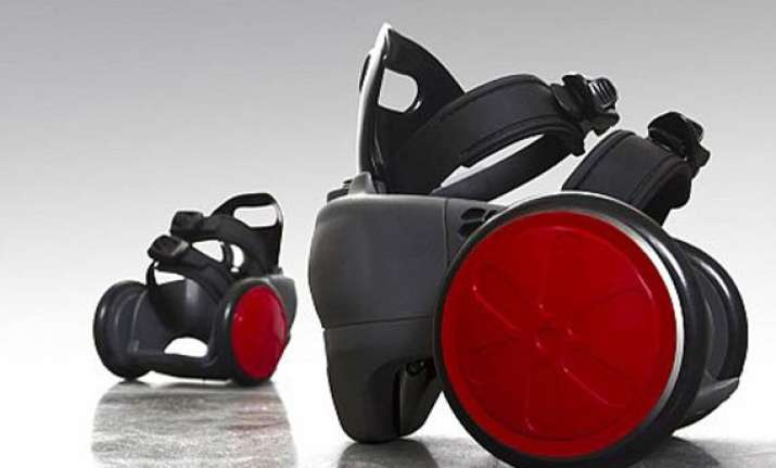 californian invents motorised shoes with remote to beat