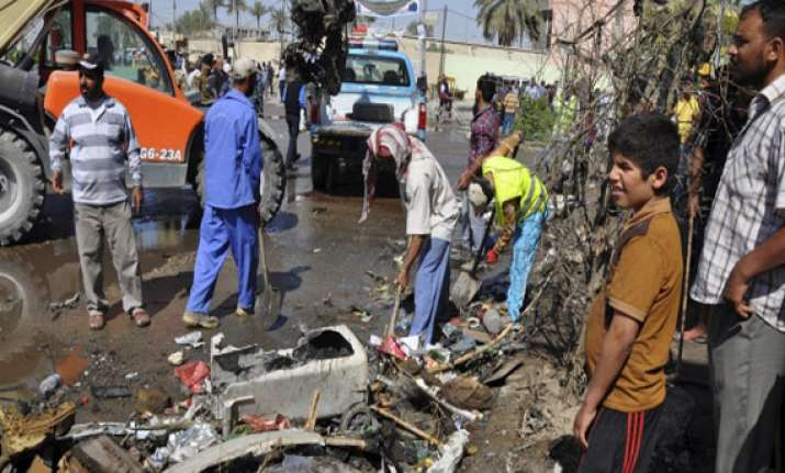 car bombs kill 34 in southern iraq