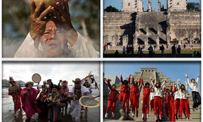 ceremony heralds end of era in 5125 year mayan calendar