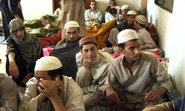 pak police rescue 45 students chained in madrassa