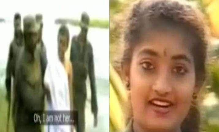 chilling video of ltte journalist issei priya captured