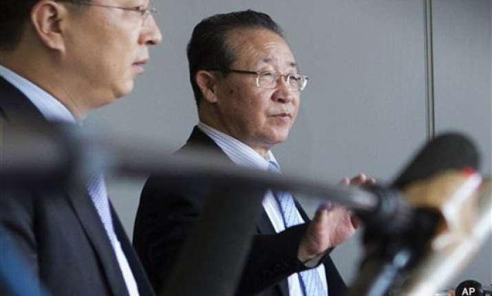china north korea hold strategic talks in beijing
