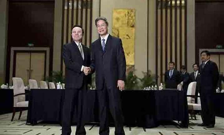 china taiwan hold historic talks