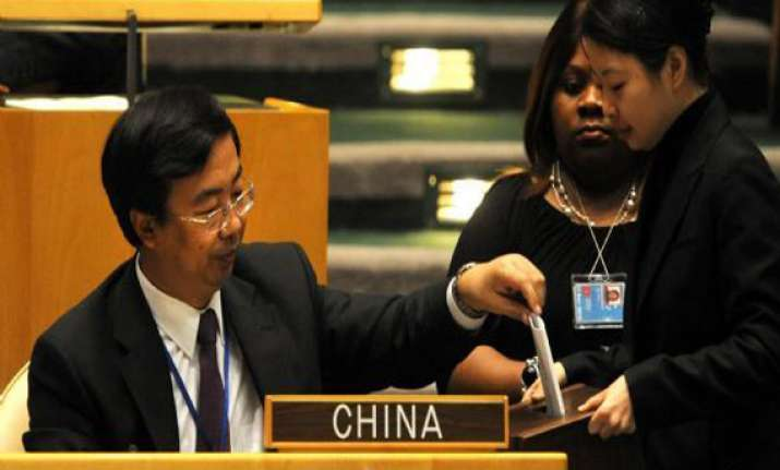 china re elected to un economic and social council