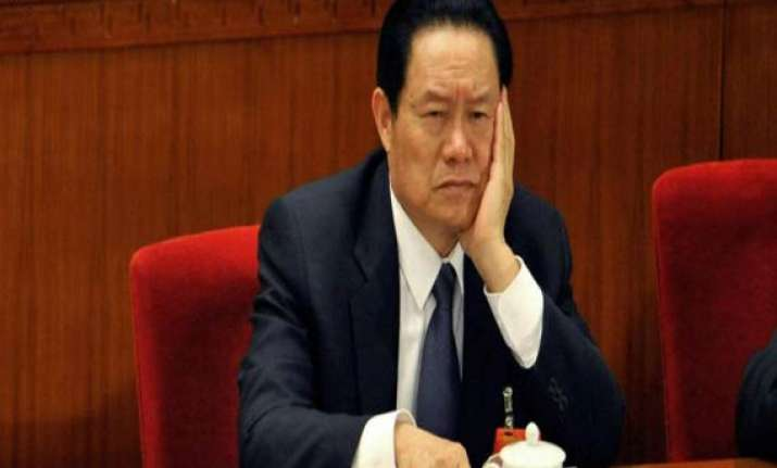 china s ex security chief under investigation xinhua
