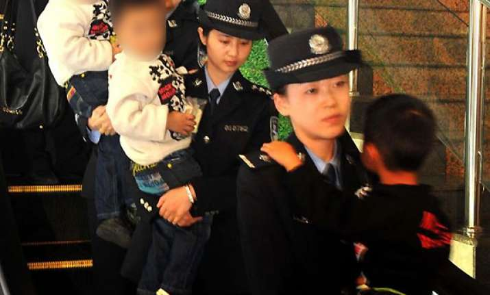 china rescues 178 children in trafficking bust