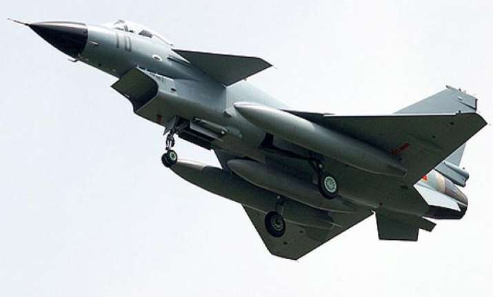 china test its j 10 fighters near borders with india
