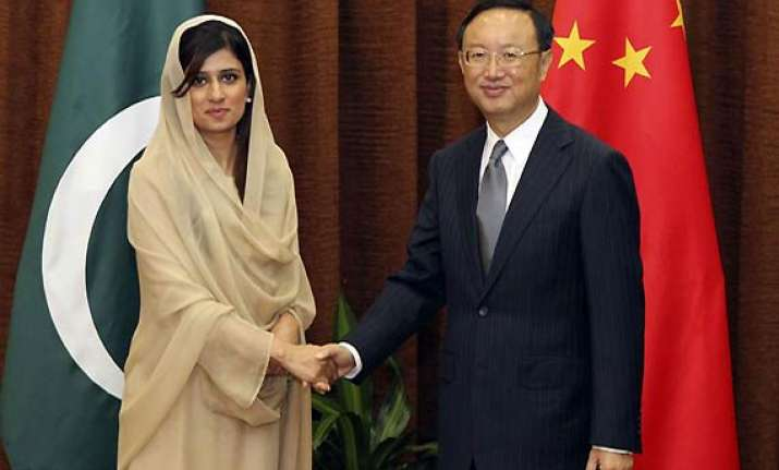 china deeply shocked as khar briefs on nato attack