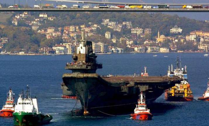 china s first aircraft carrier takes to the seas