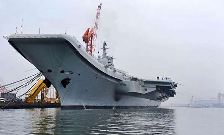 china s first aircraft carrier completes sea trials