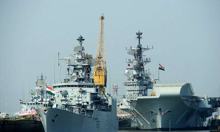china to give high profile reception to indian naval ships