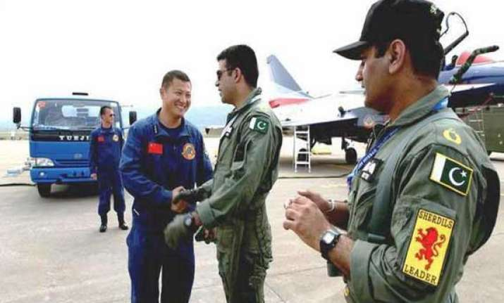 chinese contingent in pakistan for joint air exercises