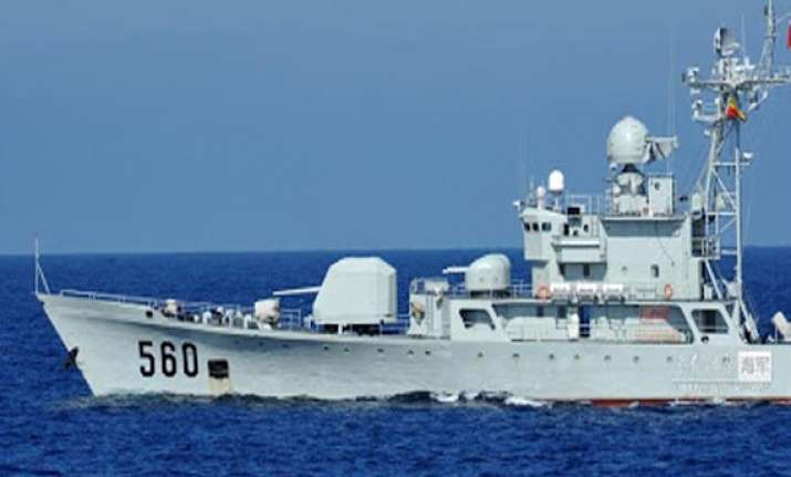 chinese fleet to conduct open sea drill