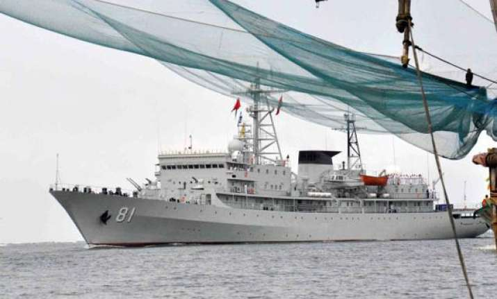 chinese naval ships visit vizag on goodwill tour