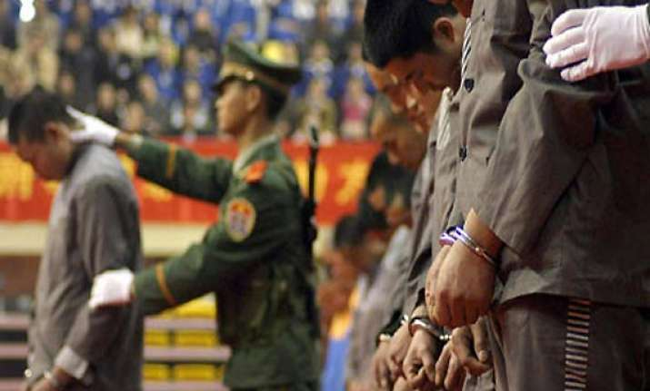 chinese official executed for raping 11 girls