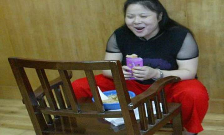 chinese woman who laughed then wept before execution was