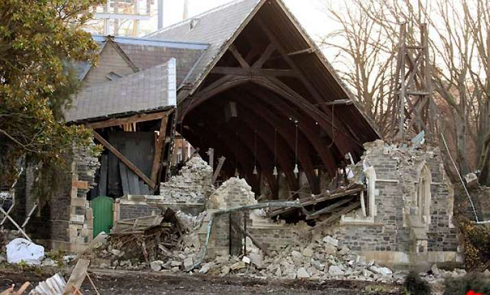 christchurch hit by series of earthquakes
