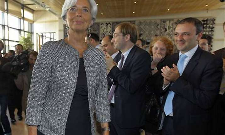 christine lagarde takes over as new imf chief