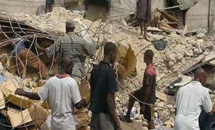 church building collapses in nigeria 22 killed