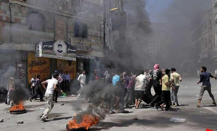 civil war breaks out in yemen